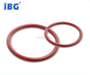 Abrasion Resistance Clear FEP Viton/Silicone Rubber Encapsulated O-rings