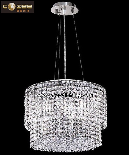 Italian Crystal Chandelier modern Pendant Hanging Lamp Light Lighting Fixture CZ9287C