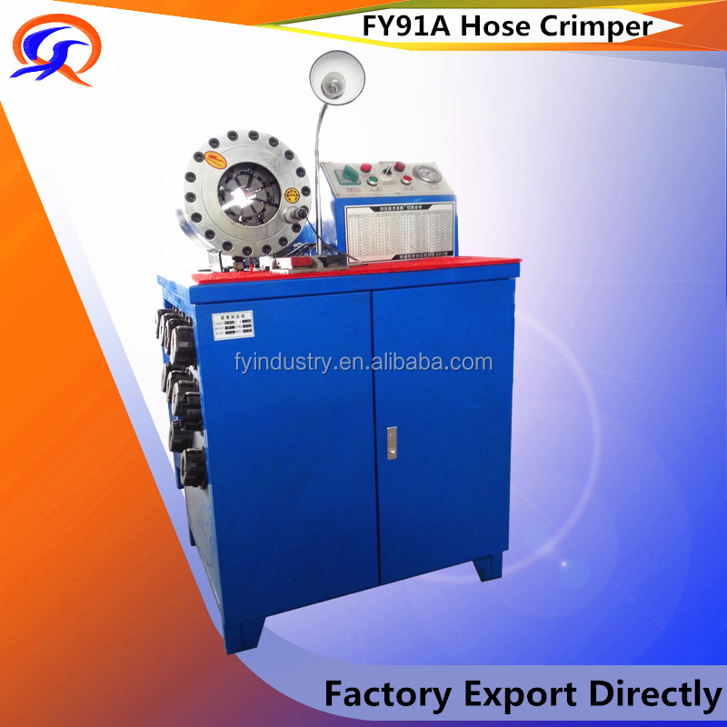 FY91A Myanmar Alibaba Hydraulic hose crimping machine manufactory plate press vulcanzing machinery rubber machine