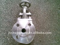 flanged stainless steel stop valves