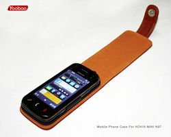 Genuine Leather Case For Nokia N97 Mini
