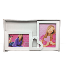 Beijing Sunorien PFG0031 Multi frame heart shaped collage double photo frame collage sexy photo picture frames for home decor