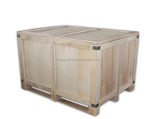 Solid wood packing box / wooden packing box for export