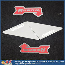 self adhesive metal car nameplate