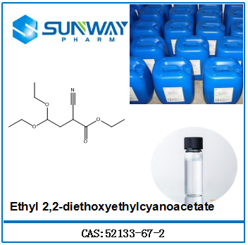 High Quality Chemical Reagent 52133-67-2 ethyl 2-cyano-4,4-diethoxybutyrate