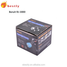 Free shipping! BORUIT RJ-3000 18W 3 XM-L T6 5000 Lumen led headlamp rechargeable led headlamp