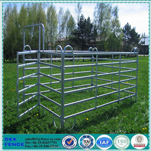 Wholesale heavy duty portable galvanized pipe used horse corral panels