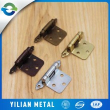 Wholesale Cheap Metal Parts Kitchen Cabinet Hardware Hinges Self-closing Locking Hinge Hardware Brass Hinge