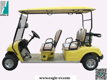 4 seats club car golf carts, new condition, with ce approved