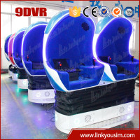 Hot summer sale 360 rotating platform 3 seats 9D VR cinema 9d xd movie theater products