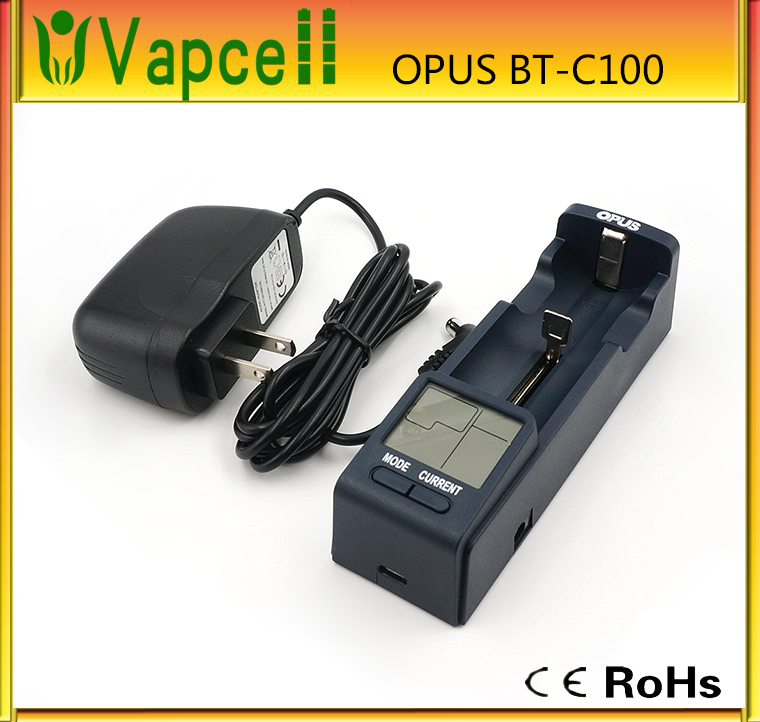 New Opus BT-C100 Intelligent Digital LCD Multifunction Li-ion NiMh Battery Charger USB Cable design by BT-C3100 factory