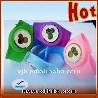 Popular Children Slap Silicone Wristwatch
