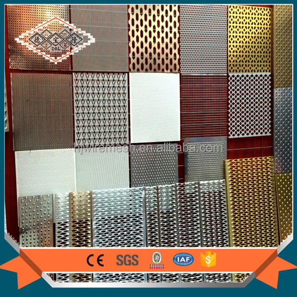 Aluminium Perforated Metal Panel Mesh Sheet