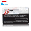 Factory Price PVC Credit card Protector RFID Blocking Card