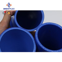 Competitive price various sizes anti-aging universal silicon rubber elbow hose factory supplier