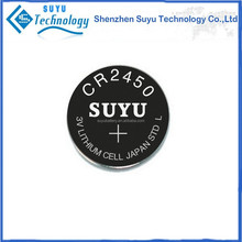 High temperature battery CR2450HT/CR2032HT tpms valve stem button cell battery