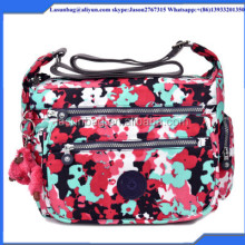 OEM Custom Design Washed Nylon Single Strap Kipled Sport Shoulder Bags