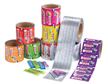 Factory price chewing gum wrapping aluminum foil chewing gum aluminum foil