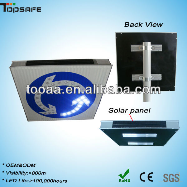 Solar Aluminum Portable LED Traffic Signs