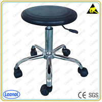 Round lab chair with height adjustable
