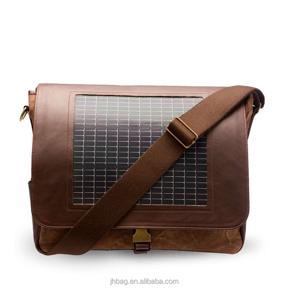 Solar Charger message bag With 7 Watts Solar Panel for Mobile Phones, Solar Charger bag, Solar Bag Charger