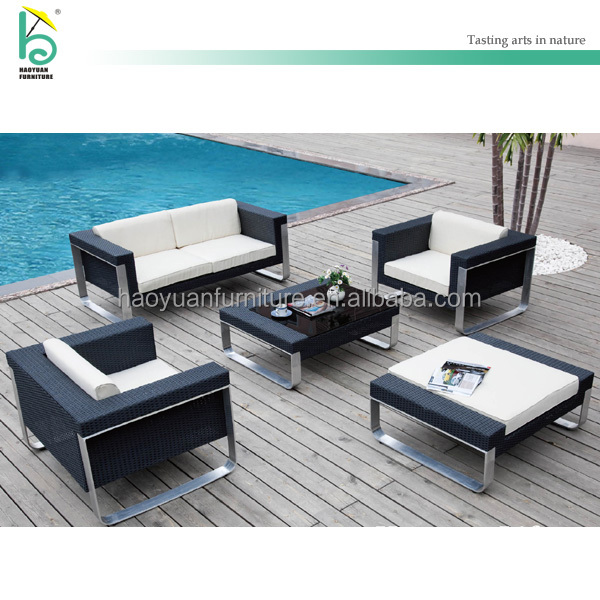 outdoor furniture sofa conversation rattan furniture wicker sofa set