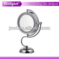 22CM elegant design LED light magnifying mirror