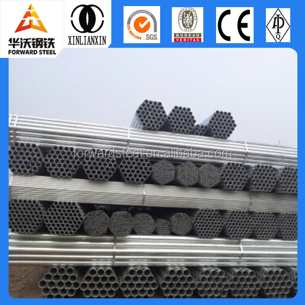 Hot Dip Galvanized iron Pipe & Galvanized steel Pipe factory schedule 10 steel pipe pressure rating