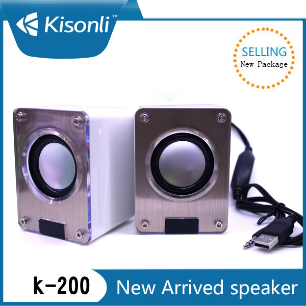Portable mini amplifier speaker for mobile/mp3 with good sound with USB cable