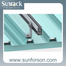 solar panel aluminum mount/rooftop installation pv brackets