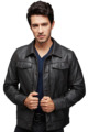High Quality Soft Men Fashion Leather Jacket Casual Leather Jacket