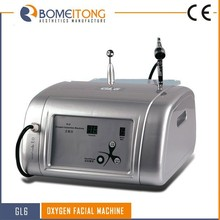 Portable skin caring oxygen jet h2o and oxygen beauty machine