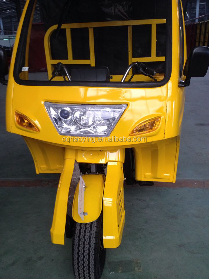 Ghana Motor King Reliable DAYUN Heavy Loading Super Cross Adult Tricycle For Cargo Use
