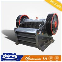 SBM PEW high capacity and low price stone crusher type 300 400 tph