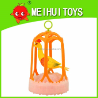 2015New toys-Chirping Bird Realistic sound control bird cage toy