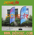 Outdoor Feather Beach Flags flying banners