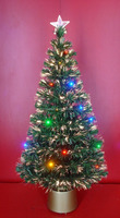 Color Fiber Optic Decorative Christmas Trees with LED Lights