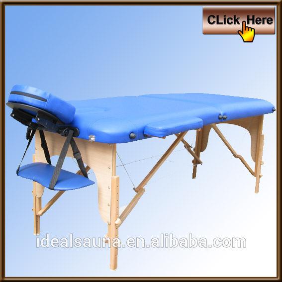 Bon March De Gros En Bois Table De Massage Portable L Ger Table De Massage Pliante Table