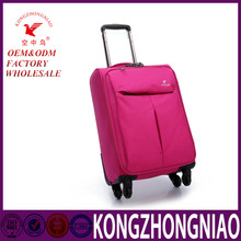 Baigou trolley luggage/trolley luggage with custom logo/luggage carrier with wheels