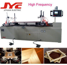Automated picture frame assembly machine