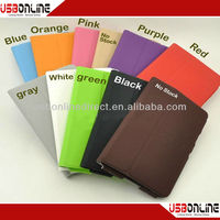 2014 hot sell for Tab 7.0 P6200 Leather Case