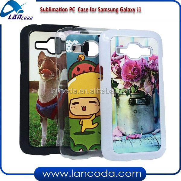 new selling 2d sublimation phone cover for Samsung GALAXY J1 pc case,sublimation phone case cover with metal insert
