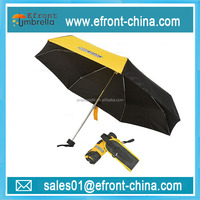 19 inch popular 7 k pocket small cheap mini 5 fold umbrella