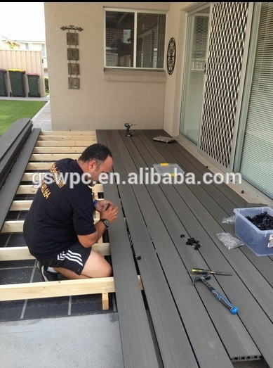 newteck Balcony floor board/Composite Decking Price