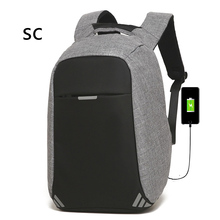 2018 new style Waterproof Wholesale Charging stylish drinking Water Proof foldable Usb Backpack