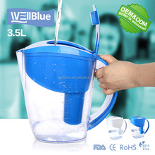 Wellblue HOT-Selling Alkaline Water Filter Pitcher L-PF601