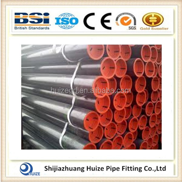ANSI B16.9 ASTM A105 seamless SCH160 4inch carbon steel pipe