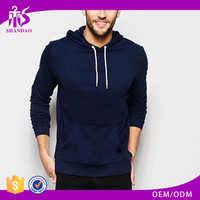 2016 Shandao OEM/ODM Custom Design Autumn Long Sleeve Pullover Jersey Tall Hoodies Wholesale