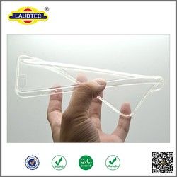 Ultra Thin Clear Crystal Rubber TPU Silicone Soft Case for Iphone 6 plus 5.5 inch ----- Laudtec