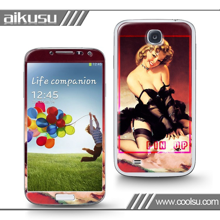 Wholesale china factory decal 3D skin case cover for samsung galaxy s3 S4